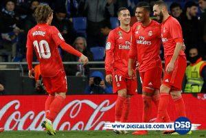 #LaLiga: Real Madrid condena al Espanyol en quince minutos