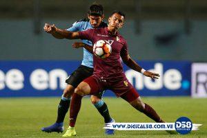 Uruguay frena racha ganadora de Venezuela y le empata en Rancagua