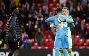 #LaLiga: Ter Stegen impide la derrota del Barcelona en San Mamés