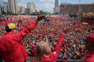 Chavismo celebra en las calles los 20 años de la «revolución bolivariana»