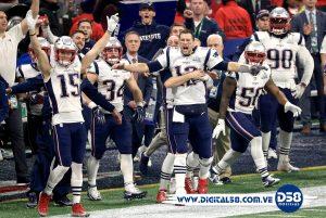 #NFL: Patriots y Brady ganan su sexto Super Bowl con triunfo 13-3 ante Rams