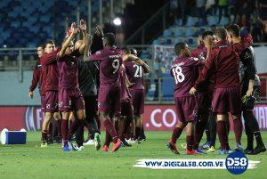 Venezuela firma un histórico triunfo 2-0 ante Brasil en el Sudamericano Sub-20