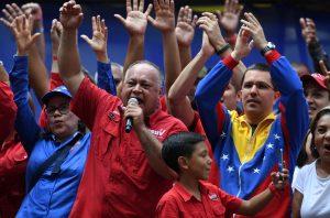 Chavismo llama a concentración en el palacio presidencial en Caracas
