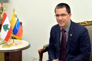 Arreaza afirma que «la única injerencia» en Venezuela es la de EEUU
