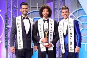 Zuliano Jorge Eduardo Nuñez alzó trofeo como Mister Venezuela 2019