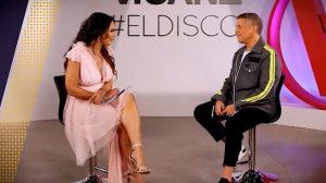 Alejandro Sanz habla de «#ElDisco» en el programa Showbiz: «Mariela entre famosos»