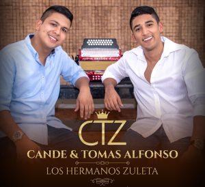 Los hermanos Cande y Tomás Alfonso Zuleta oficializan su dúo