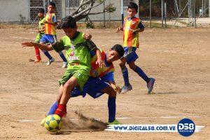 #FútVe: infantiles de Ítalo Cabimas y Arabito pactaron tablas en jornada 2 del Interregional