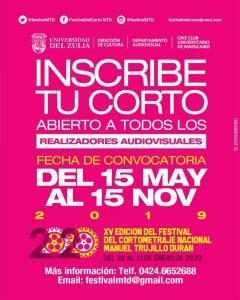 Comienza el recorrido hacia la XV edición del FMTD 2020 «El cine se escribe en Maracaibo»