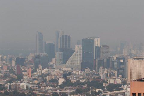 Fotos: así se ve la asombrosa cantidad de contaminación en la Ciudad de México