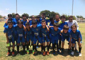 #FútVe: «Negriazul» Sub-13 logra su cuarto triunfo en hilo