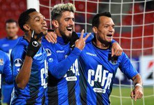 Zulia gana 1-0 a Palestino en Santiago y avanza a octavos de la Copa Sudamericana