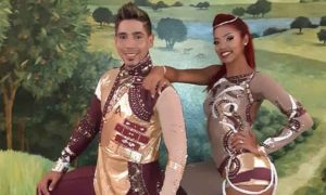 Rosa y Jorge, bailarines de talla mundial hechos en Venezuela