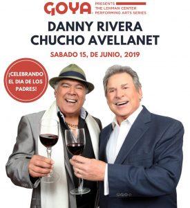 Danny Rivera y Chucho Avellanet se presenta juntos con «Coincidencias» por primera vez en Nueva York