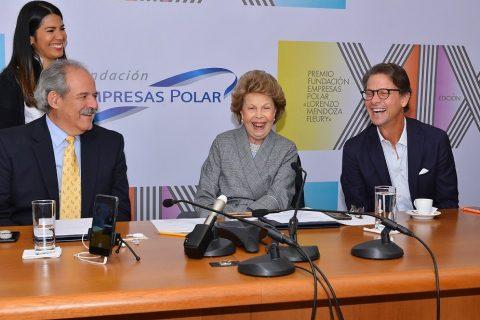 Fundación Empresas Polar anunció los científicos ganadores del premio Lorenzo Mendoza Fleury en su edición XIX