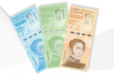 Tres nuevos billetes se incorporan al Cono Monetario vigente venezolano