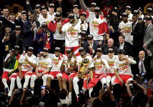 Raptors destronan a los Warriors, con Leonard como nuevo rey de la NBA