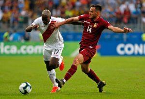 Venezuela y Perú empataron sin goles