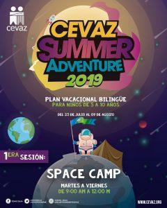 Cevaz inicia Plan Vacacional Bilingüe