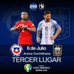 Lo Celso y Dybala, en once de Argentina; Arturo Vidal, titular con Chile