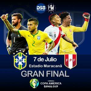 Peruanos despiertan pensando en la final Perú-Brasil por la Copa América