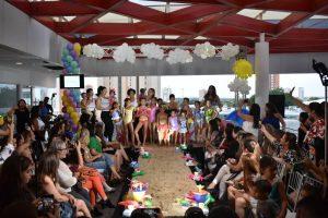 Karen Chghale estrena su primera colección de traje de baño infantil «Paradise 20.20»