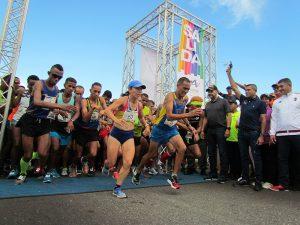 Keniano se coronó ganador absoluto en los 21K de la Media Maratón Maracaibo 2019