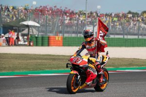 #MotoGP: El español Márquez bate a Quartararo y enfila hacia el título