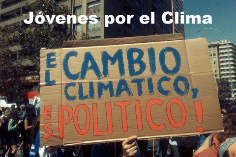20 de septiembre, jóvenes marchan por el clima en Maracaibo