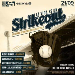 ¡PLAY BALL! Vuelve al Teatro Bellas Artes la obra teatral «La vida es un strikeout»