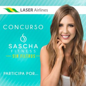 Laser Airlines te lleva a Panamá con Sascha Fitness