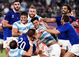 #RugbyWC: Argentina se aleja de los cuartos de final tras su derrota contra Francia