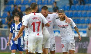 El Sevilla gana 1-0 al Alavés y se pone líder liguero