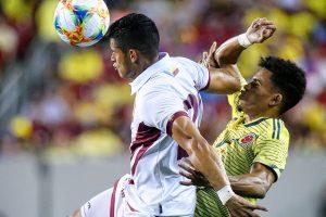 Una Vinotinto conservadora iguala 0-0 ante Colombia