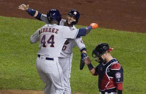 #MLB: Astros toman ventaja en la serie tras barrer a los Nationals en Washington