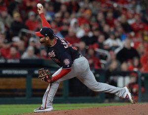 #MLB: Anibal Sánchez permite un solo hit y Nacionales adelantan a Cardenales