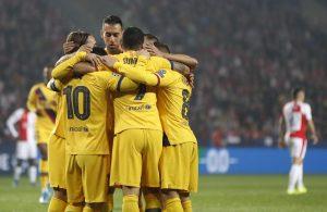 El Barça sufre pero gana; el Inter resucita