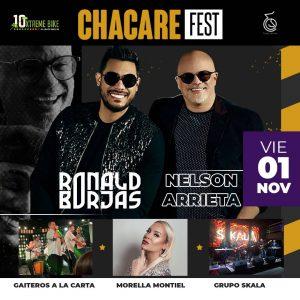 Ronald Borjas y Nelson Arrieta se unen al Chacare Fest por una buena causa