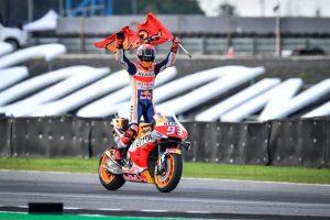 Márquez agranda su leyenda con un sexto Mundial de MotoGP tras ganar en Tailandia