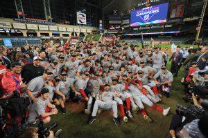 Nacionales conquistan por primera vez la Serie Mundial de béisbol derrotando a Astros