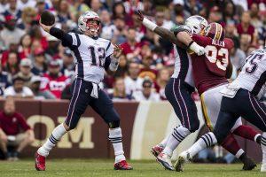 #NFL: Brady y los Patriots arrollan a Redskins y siguen invictos