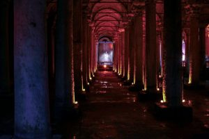 Cisterna Basílica, un palacio subterráneo en Estambul (Yerebatan)