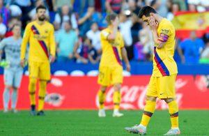 #LaLiga: Barcelona tropieza ante el Levante con un 3-1