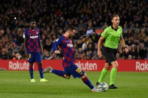 #LaLiga: Un triplete de Messi permite al Barcelona mantener el liderato