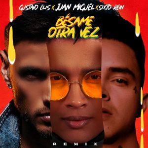 Juan Miguel estrena remix de «Bésame otra vez» junto a Gustavo Elis y Sixto Rein