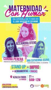 Alejandra Otero, te hará ver el lado divertido de ser mamá