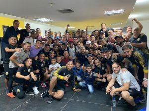 Táchira es el primer finalista del Torneo Clausura del fútbol venezolano