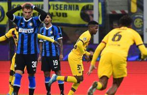 Barcelona derrota al Inter de Milan y lo deja fuera de la Liga de Campeones