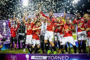 Caracas FC vino de atrás para consagrarse campeón del Torneo Clausura