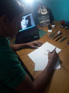 El dibujante José Franco quiere dejar una huella para la nueva generación